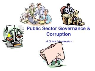 Public Sector Governance & Corruption