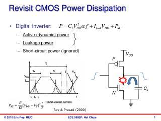 Revisit CMOS Power Dissipation