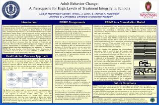 Adult Behavior Change: A Prerequisite for High Levels of Treatment Integrity in Schools