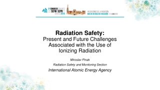 ISSUES IN CT RADIATION DOSE