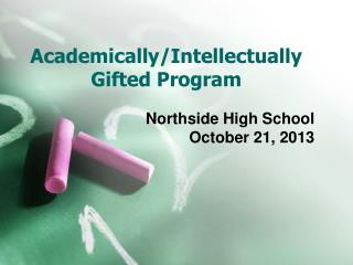Academically/Intellectually Gifted Program