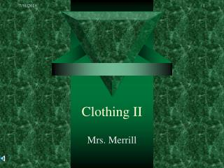 Clothing II