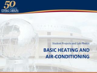 Basic Heating and  air-conditioning