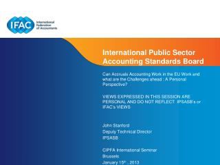 International Public Sector Accounting Standards Board