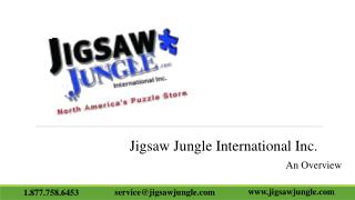 Jigsaw Jungle International Inc. – An Overview