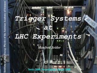 Trigger Systems  at  LHC Experiments