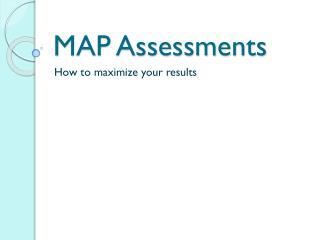 MAP Assessments
