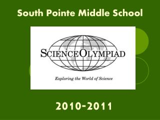 South Pointe Middle School