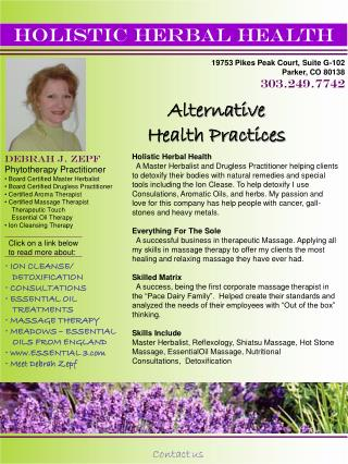 HOLISTIC HERBAL HEALTH