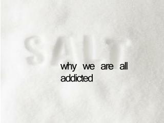 why we are all addicted