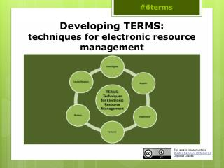 Developing TERMS:  techniques for electronic resource management