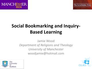 Social Bookmarking and Inquiry-Based  L earning