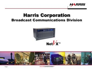 Harris Corporation Broadcast Communications Division