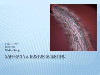 Saffran  vs. Boston Scientific