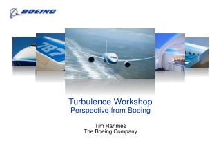 Tim Rahmes The Boeing Company