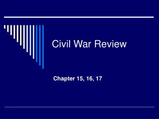 Civil War Review