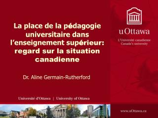 Dr. Aline Germain-Rutherford