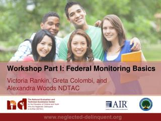 Workshop Part I: Federal Monitoring  Basics