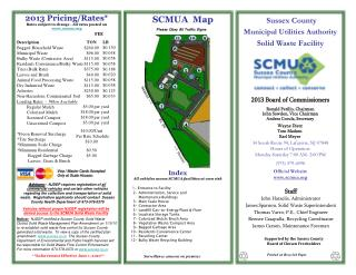 Sussex County  Municipal Utilities Authority Solid Waste Facility