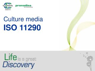 Culture media ISO 11290