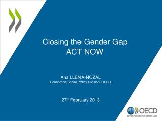 Closing the Gender Gap ACT NOW