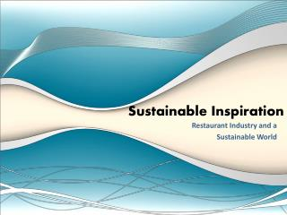 Sustainable Inspiration