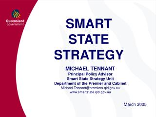 SMART  STATE STRATEGY