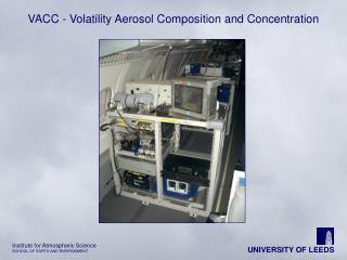 VACC - Volatility Aerosol Composition and Concentration