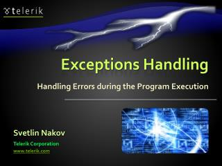 Exceptions Handling