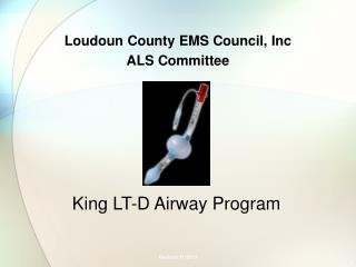 Loudoun County EMS Council,  Inc ALS Committee
