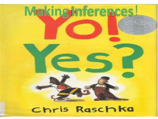 Making Inferences !