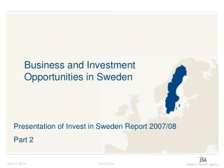 Business and Investment  Opportunities in Sweden