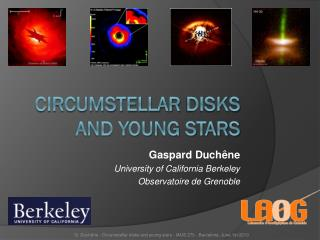 Circumstellar  Disks and young stars