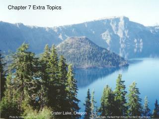 Chapter 7 Extra Topics