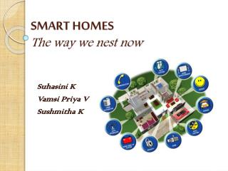 SMART HOMES The way we nest now