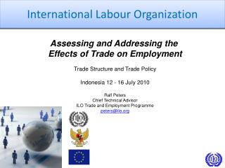 Assessing and Addressing the  Effects of Trade on Employment Trade Structure and Trade Policy