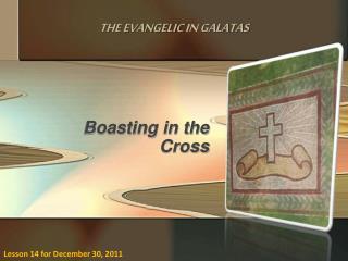 Boasting in the Cross