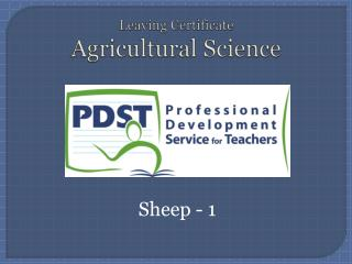 Leaving Certificate  Agricultural Science