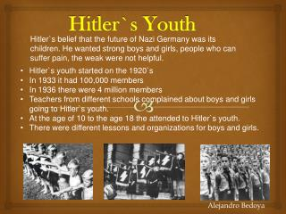 Hitler`s Youth