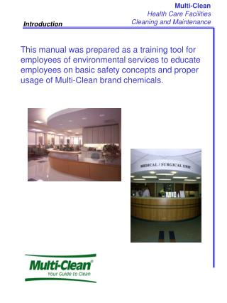 Multi-Clean Health Care Facilities Cleaning and Maintenance