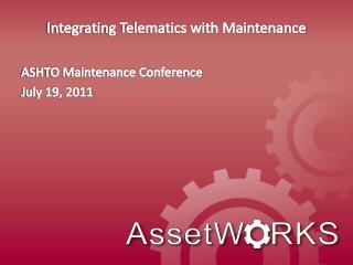 Integrating Telematics with Maintenance