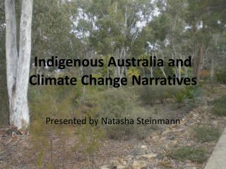 Indigenous Australia and Climate Change Narratives