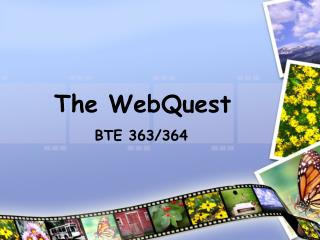 The WebQuest