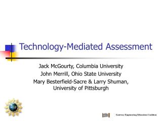 Technology-Mediated Assessment