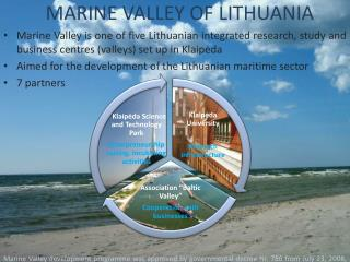 MARINE VALLEY OF LITHUANIA