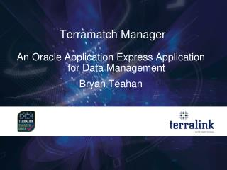 Terramatch Manager