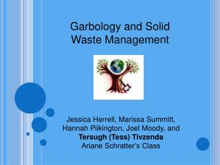 Garbology and Solid Waste Management