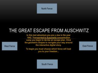 The Great Escape from Auschwitz