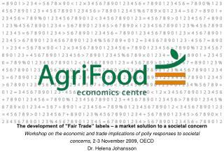 Societal concerns and international trade