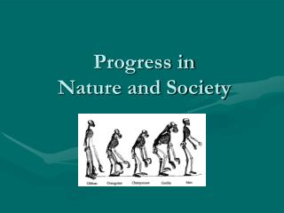 Progress in  Nature and Society